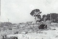 1944 - Provence- batterie du Pin des Galles les 105 Flak tirent sur les chars progressant vers La Garde - col part - source : Paul  Gaujac