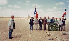2002 - Pèlerinage Bir Hakeim - A gauche Pierre Robédat
