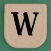 Line Word black letter W