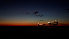 The Light House at South Haven - ISO 6400, DxO Prime noise reduction photo by bill.d