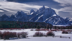 Snow Bound Tetons photo by Jerry T Patterson