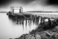 Ferry Point Pier photo by Ron Rothbart