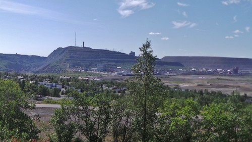 2013-0725 1136 Kiruna  vanaf Luossavaara