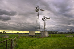 Windmill Near Benalla photo by Rene52