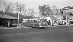 Calvert St. turnaround + Toddle House, 1948 photo by rockcreek