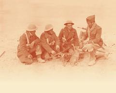BIM- 1942- Bir Hakeim Lt Roudaut 13 puis Bim e tBimp