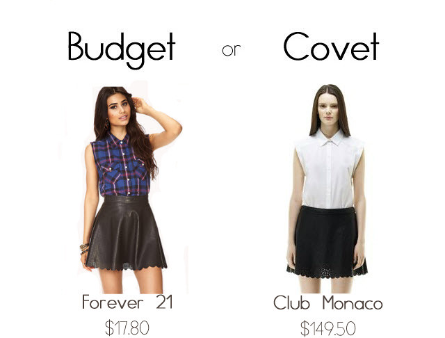 Budget Covet leather skirt final