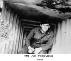 BM 4 Chambarand - 1945 Avril_Monte Grosso_Rocchi - Fonds Emile Gauthier