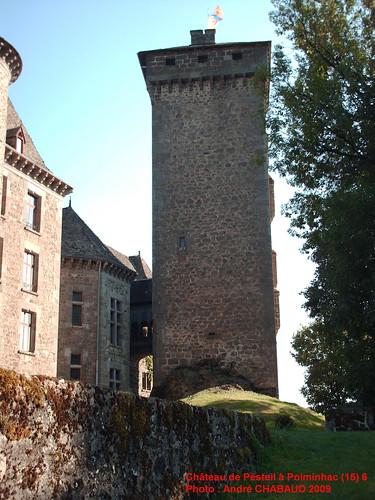 Château de Pesteil à Polminhac (15) 6