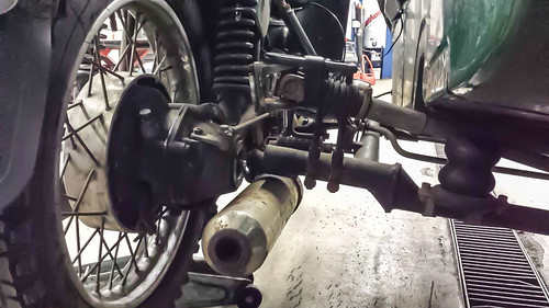 Ural Axle and U Joint Repair