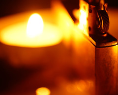 Candle Lit Lighter photo by orbed