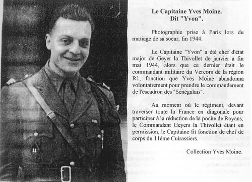 11e Cuirassiers - Yves Moine fin 44  - Maquis du Vercors- Fonds Gérard Galland