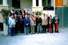 Authion - inauguration - Général Saint Hillier au centre - col.Wladislas Picuira