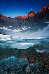 Good Morning Iceberg Lake photo by CNaene