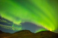 Northernlight in Iceland photo by Pieter Mooij