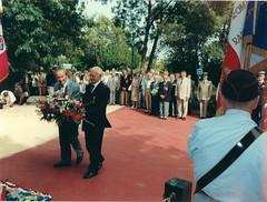 Quelen André et Vadon Guy - Juin 2003 - Plaque Victor Mirkin - Fonds Pierre Tropet