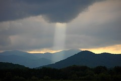 Sun Beam photo by NC Mountain Man