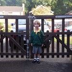 Amy's first day at school<br/>10 Sep 2013