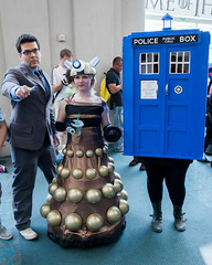 Doctor Who, Dalek, TARDIS photo by uncle_shoggoth