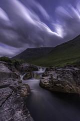 Moonlit waterfall photo by Mandlenkhosi