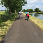Biking in Burgundy on barge Rendez-Vous