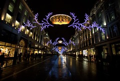 Regent Street - Christmas In London photo by Simon & His Camera