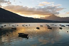 Tramonto al lago di Santa Croce photo by Gabriele Kahal