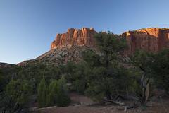 Last light on Circle Cliffs (Explored) photo by Jeff Mitton