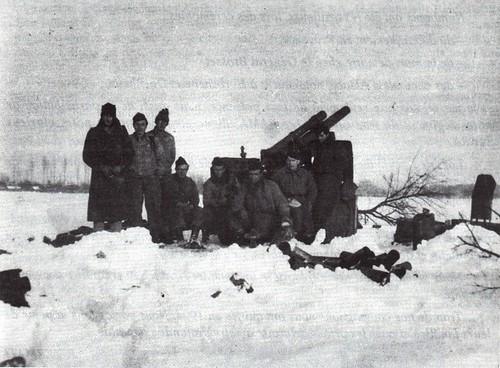 RA- 1945 -Alsace: pièce de la 7e batterie