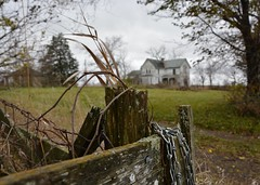 abandoned houses and fence friday @ C.R. Farm photo by Aces & Eights Photography