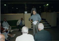 2002 - Pèlerinage Bir Hakeim - à gauche, André Quélen - Jacques Roumeguère