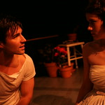 Boyd Harris and Bridgette Pechman in PICNIC at Writers Theatre. Photos by Janna Giacoppo.