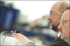 President of the European Parliament Martin Schulz opens the May plenary session