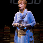 Barbara Robertson (Alice Conroy) in THE DETECTIVE'S WIFE at Writers Theatre. Photo by Michael Brosilow.