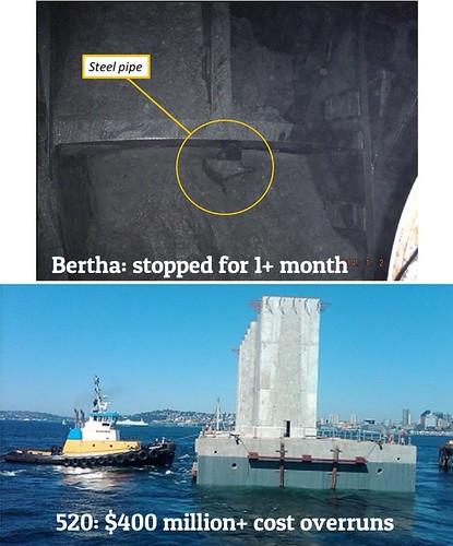 bertha and pontoons