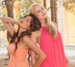 Sunset Fashion Shoot - Maria & Corrina 3 photo by Gordon Blackler