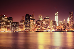 New York Night - Skyscraper Skyline photo by Vivienne Gucwa