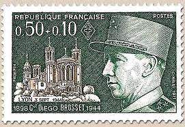 Philatélie- général Diego Brosset