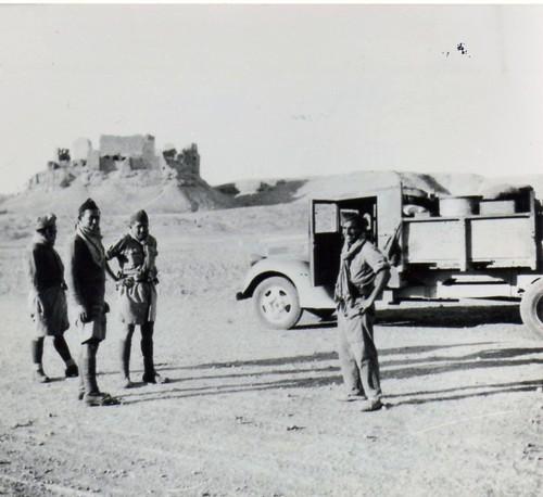 BM2 - 1941 -Syrie- Un chateau avec DUPIN - Fonds Amiel