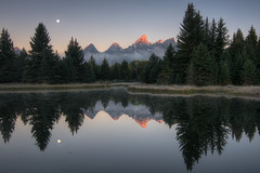 Schwabacher's Landing, Grand Teton National Park HDR photo by Brandon Kopp