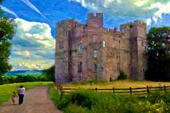dacre castle photo by AppleCrypt