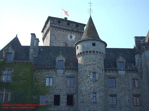 Château de Pesteil à Polminhac (15) 3