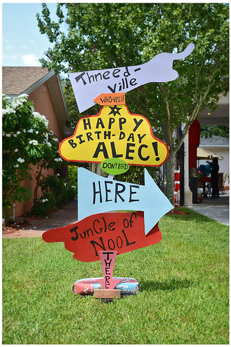 Doctor Seuss Party