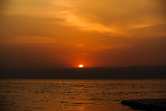 Sonnenuntergang am Toten Meer - Sunset at Dead Sea ~ Explore photo by Kat-i