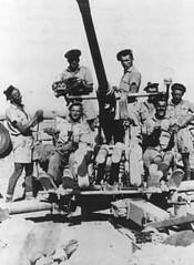 RFM- BFM - Libye -  canons AA bofors