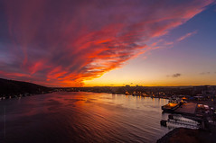St. John's harbour underneath awesome sunset #2 photo by tuanland