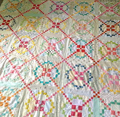 A finished quilt top. Hooray! photo by clothwork