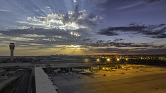 Sky Harbor - Day to Dusk [Explored] photo by Phoenix Rising Photography