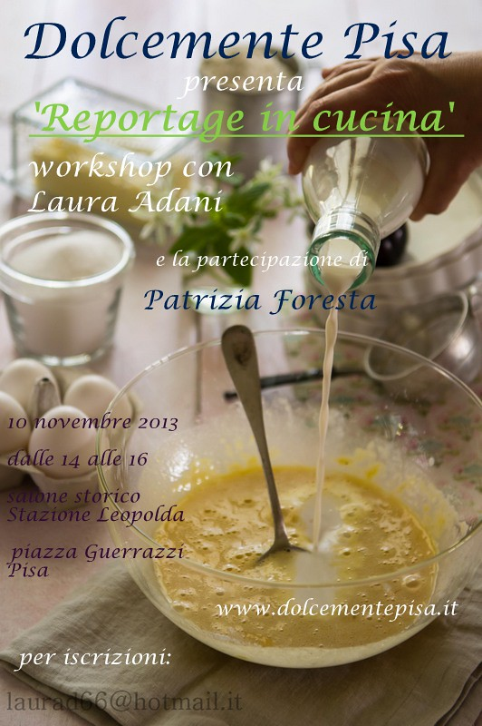 workshop: Reportage in Cucina