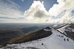Vittorio Veneto al sole dopo la prima neve di stagione photo by Gabriele Kahal